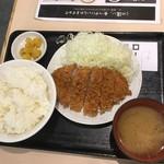 tonkatsuhamaya - ロースかつ定食