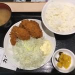 tonkatsuhamaya - カキフライ定食