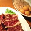 福次郎 - 料理写真:鶏もつ一羽焼き ¥720、カナダ産はらみ ¥735
