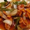 トンプウ(東風) - 料理写真:思ってたより大量の酢豚です。