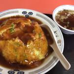 中華料理福新 - 料理写真:天津丼\820