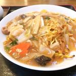 中華料理 唐韻 - 五目あんかけ焼きそば