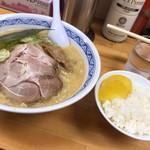 Shun - 味噌らーめん+ランチサービスライス!