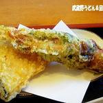 讃岐うどん 福一 - 2012年1月 ちくわ天・野菜天