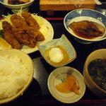おさかな厨房二見ヶ浦食堂 - カキフライ定食