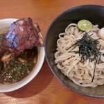 島豚家 - 炙りあぐーソーキつけめん・1680円