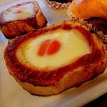 コムギコ - 料理写真:エッグトースト@130