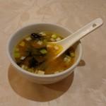 114531977 - メニューになかったサービスのスープ