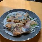 大衆すし酒場 カドハチ - 炙り〆鯖のなんか