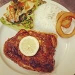 MKYアメリカンレストラン - 『フライドチキン ライスプレート』