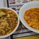 中華麺飯・飲茶 四川乃華 ICHI - エビチリ、麻婆豆腐(メニュー外)