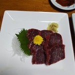 大樹 - 料理写真:鯨の刺身