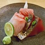 鮨 おくの - 料理写真:刺身