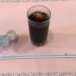プラザ洞津 - 月替ランチセット:アイスコーヒー