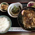 めん処 いせ徳 - 料理写真:きしめん定食750円です