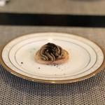 ル ポンデュガール ユキノブ ツキダテ - 三河赤鶏レバーペーストピンチョス