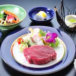 和食処 こばやし - 牛ヒレ網焼き定食