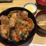 豚丼のぶたはげ - 料理写真:★4枚(960) グリーンピースがPhotogenic