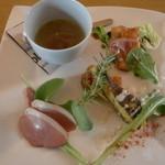 イタリアンダイニングカフェ チィーボ - 前菜盛り合わせ