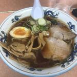 旭川ラーメン ゆーから - 料理写真:正油ラーメン ¥800