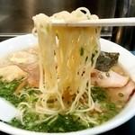 こうや麺房 - こうや麺房@本郷三丁目 雲呑麺 麺リフト