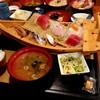 長楽 - 料理写真:舟盛刺身定食