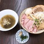 麺屋 みつば - 料理写真:特製磯塩つけ麺
