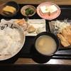 きじべえ - 料理写真:サーモンカマと味噌漬ポークステーキ