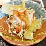 みき寿司 - ちょこんとサラダ