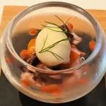 114584133 - 淡路・フレッシュグループのトマトと明石・小蛸