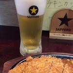 エランドール - ビール 500円。