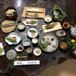山菜料理 みたき園 - 料理写真:桧コース