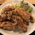 あたご食堂 - 鶏の唐揚げ