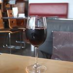 i-na cafe - グラスワイン赤