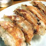 黒とんこつ 白鳳 - 焼き餃子