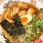 114593422 - あっさり鶏ガラ中華そば 醤油 中華麺(720円)