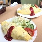 カフェレストランパセリ - オムライスセット  980円