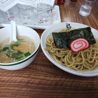 麺や 福座 - 料理写真:夏限定煮干しつけ麺 中盛り1,100円