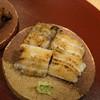 kagurazakaabe - 料理写真:白焼き前が一色産養殖、後ろが天草天然