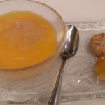 114598070 - カエルの脂肪のせマンゴープリンと中華焼き菓子