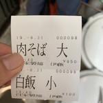 Jikaseimenitou - ライスじゃなくて、白飯ってのが良いよね