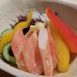 鮨 割烹 福松 - 蟹酢
