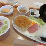 カフェ・レスト・シャトー - 和おにぎりモーニング 630円