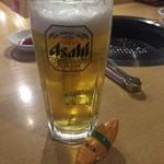 鶴橋ホルモン本舗 - 生ビール290円(安い)