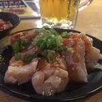 鶴橋ホルモン本舗 - ミノ お肉 キレイです