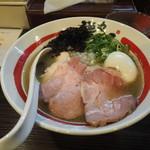 麺や でこ - 特製追い煮干そば1150円