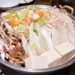 114609054 - さくら鍋(肉投入前)