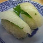無添くら寿司 - かれいエンガワ 105円