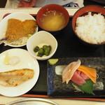味のデパート MARUKAMI - ラッキー魚ランチ950円