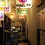 味のデパート MARUKAMI - 路地裏イメージ?